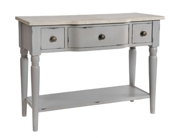 Lostwithiel Grey Console Table - Special Order